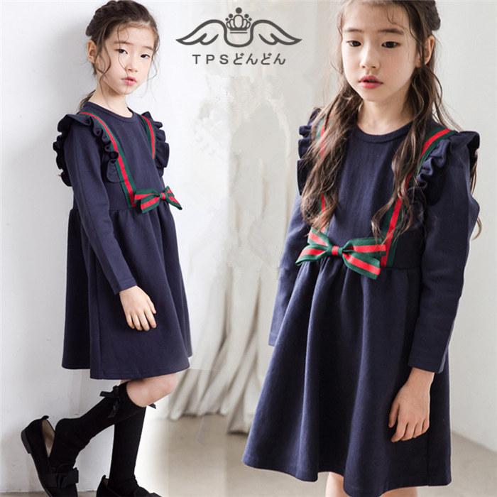 23e8f3da6706f  2018新作 ドレス子供ドレス子ども服ワンピーススーツ女の子ワンピース衣装学生制服