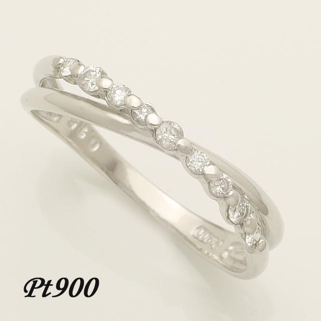 【送料無料】 ダイヤモンド リング プラチナ 指輪 pt900 「4R0216P」 *