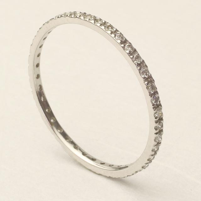 誕生日プレゼントにエタニティダイヤモンドリング エタニティ 70%OFFアウトレット エタニティリング ダイヤ ダイアモンドリング12号 売れ筋 送料無料 4R0392W-12~13 品質保証書付 レディースファッション 重ねづけ