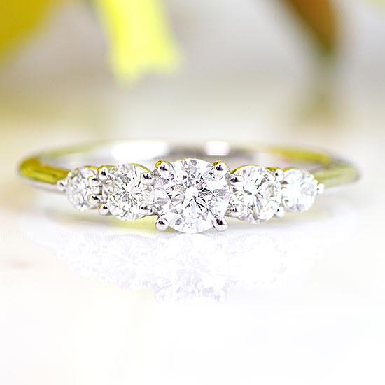 ファッション・ジュエリー・アクセサリー・レディース・指輪・リング・プラチナ・Pt900・ダイヤモンド・ダイアモンド・エタニティ・ハーフエタニティ・送料無料・品質保証書・プレゼント・4月誕生石・クリスマス・結婚