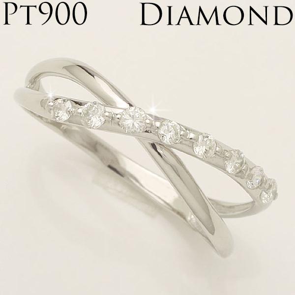 【送料無料】 0.16ct Pt900 プラチナ900 ダイヤモンド リング  「4R0170P」05P01Feb14 *