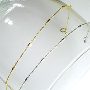 K18YG 18金ゴールド ブレスレット K18YG/PG イエローゴールド・ピンクゴールド・ホワイトゴールドからお選び下さい」「2012BL_K18」【送料無料】 *
