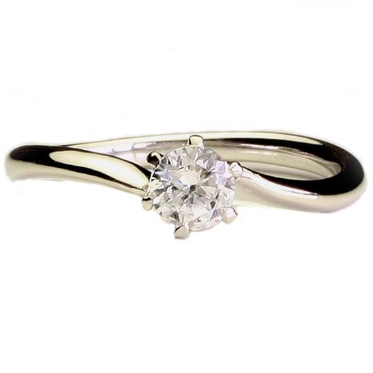 1.00ctダイヤモンド用ブライダルリング【婚約指輪】別途ダイヤモンドをお選び下さい(18金ホワイトゴールド)012240a_100_wg