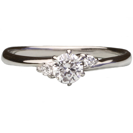 1.00ctダイヤモンド用ブライダルリング【婚約指輪】別途ダイヤモンドをお選び下さい(プラチナ900)012260b_100_pt