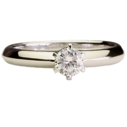 0.5ctダイヤモンド用ブライダルリング【婚約指輪】別途ダイヤモンドをお選び下さい(プラチナ900)012302a_50_pt