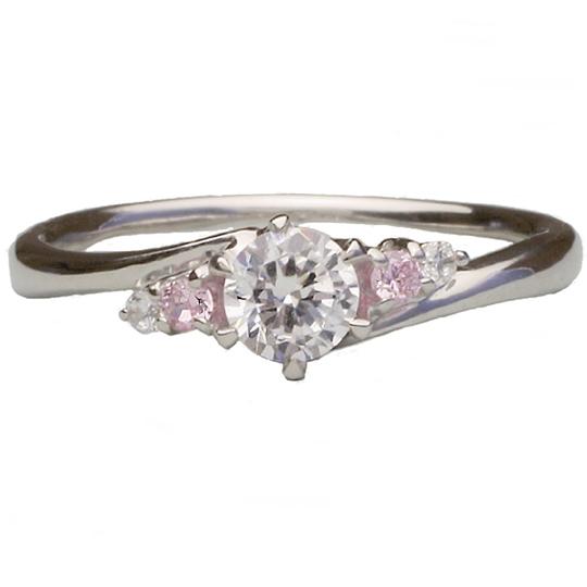 0.5ctダイヤモンド用ブライダルリング【婚約指輪】別途ダイヤモンドをお選び下さい(プラチナ900)012342b_50_pt