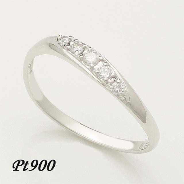 【送料無料】ダイヤモンドリングプラチナ「4R0158P」