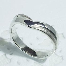 結婚指輪 マリッジリング ペアリング 女性用 K18WG 「5212-L WG-P」【送料無料】