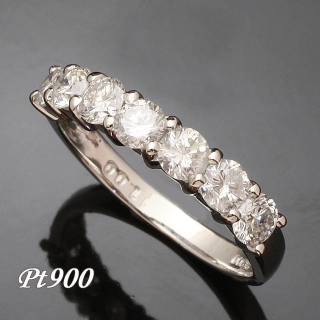 【送料無料】Pt900 1.0ct ダイヤモンド リング  「93364P」 *