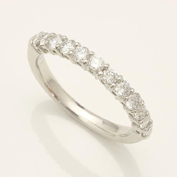 記念日 誕生日プレゼントにもおすすめのダイヤモンドリング 毎週更新 送料無料 ダイヤモンドリング指輪ホワイトゴールドk18wg 914164W ※アウトレット品