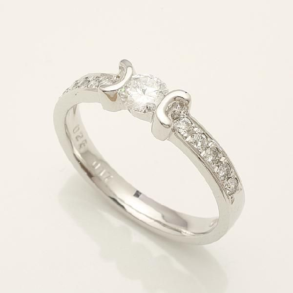 【送料無料】プラチナダイヤリングダイヤモンドリング指輪プラチナリングpt900「914178」 *