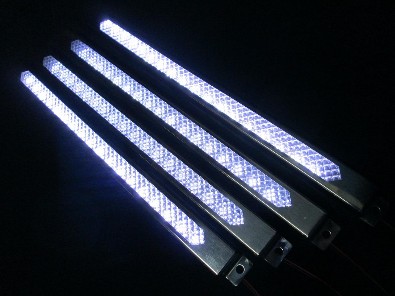 4本セット!車高灯!LEDモールアンドン 300mm ホワイト