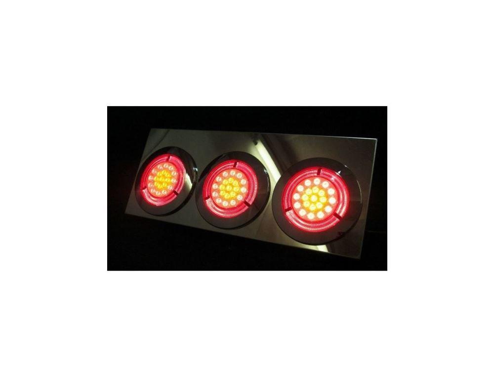 JET製 大型LED3連トレーラーテール 24V