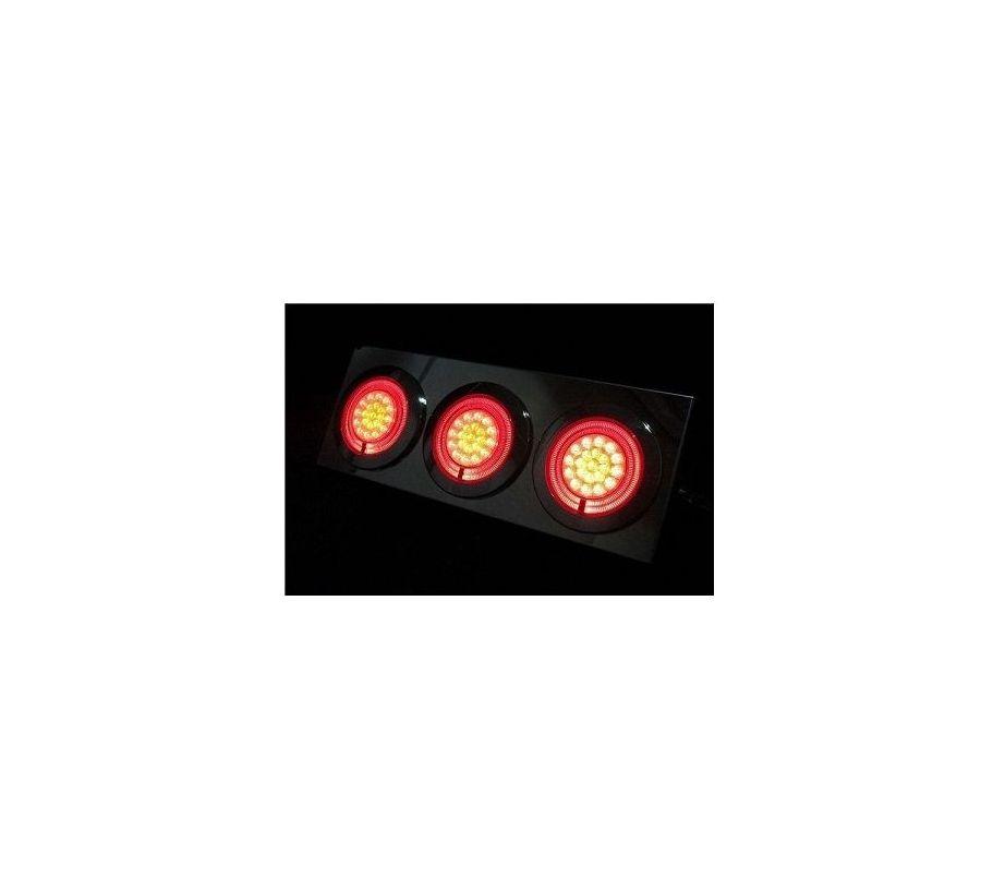 JET製 小型LED3連トレーラーテール 24V