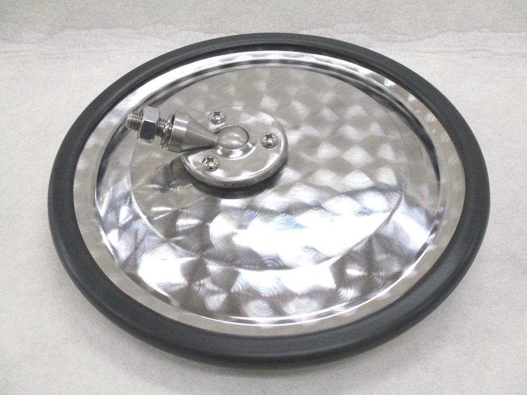 製作ミラーステー用 曲面丸型 アンダーミラー ラッピング無料 市場 220φ ステンレス製 ウロコ