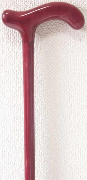 パープルハートL字型ステッキ(杖)S 【送料無料】「シニア市場」