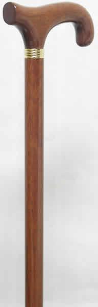 花梨L字型ステッキ(杖)-R 【送料無料】「シニア市場」