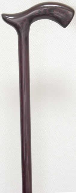 タガヤサン(紫タガヤ)L字型ステッキ(杖) 【送料無料】「シニア市場」