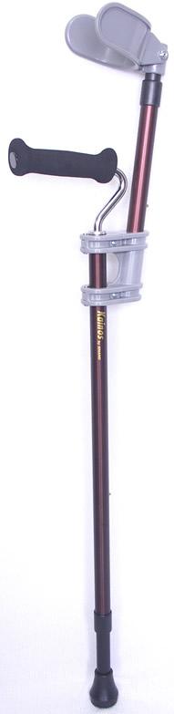 通常の1本杖だけでは不安な方に、カフが腕を支えてくれるカフステッキ 【送料無料】