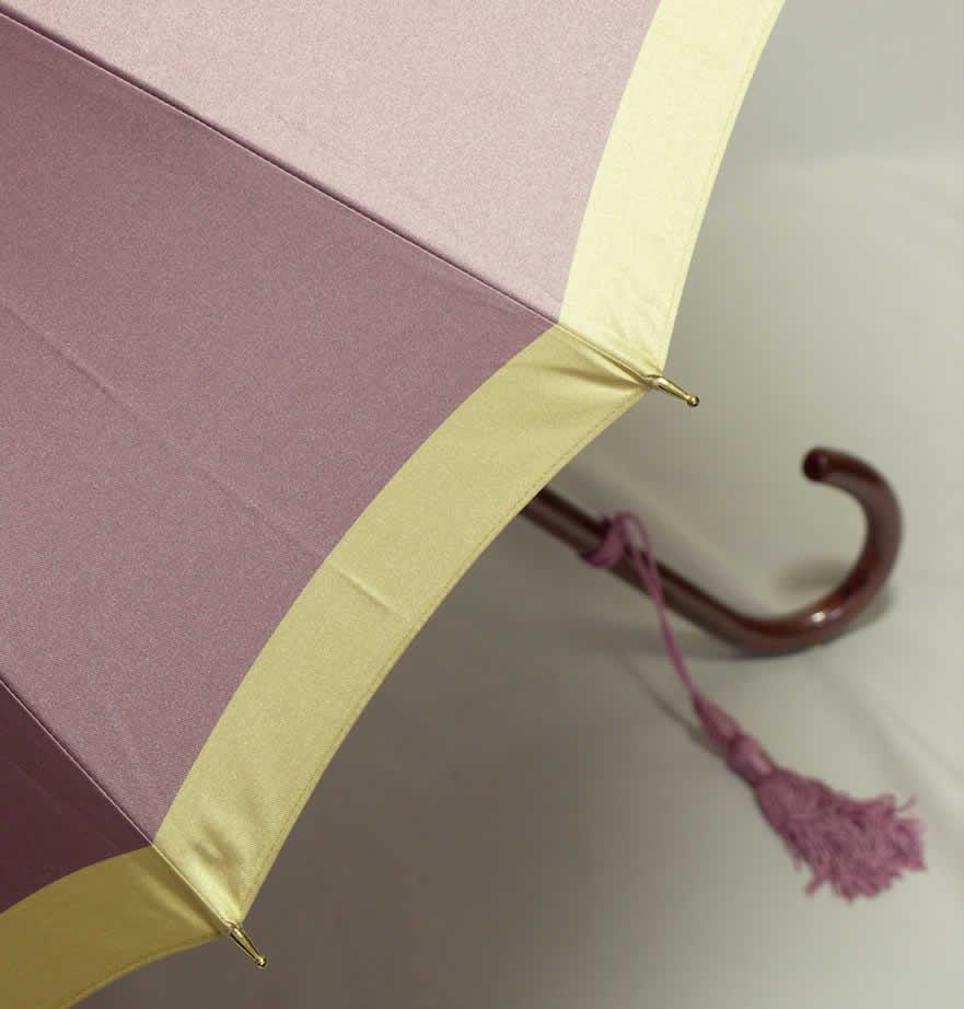 "Imperial warrant Maehara 光榮 shopping ""Maehara umbrella 16 bones border purple'"