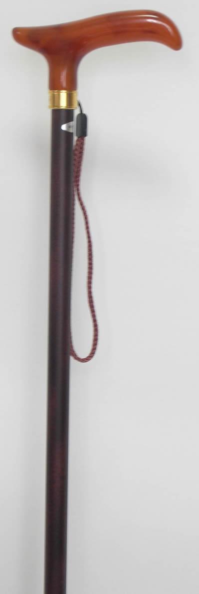 軽量ステッキ 丈夫な杖 「チタンステッキ(杖)L字型」【送料無料】「シニア市場」