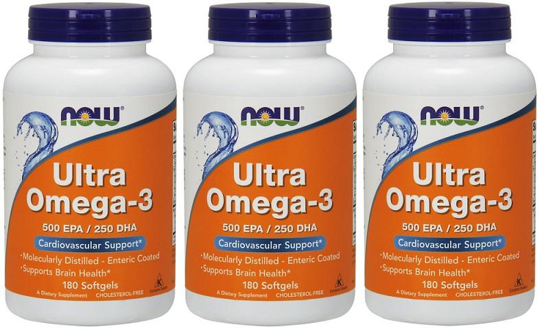 ウルトラ オメガー3 180ソフトジェル - Ultra Omega-3 180 softgels -