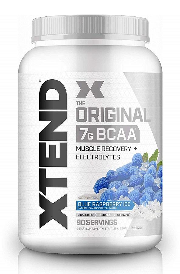 サイベーション エクステンド BCAA ブルーラズベリーアイス味 90回分 - SCIVATION XTEND Blue Raspberry Ice 90serving -