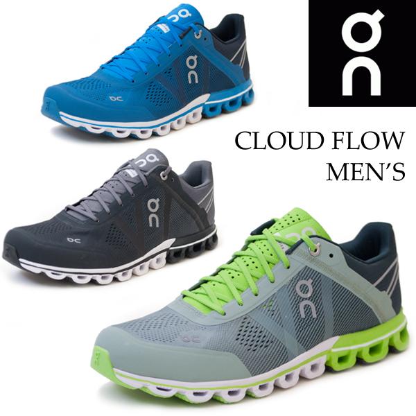 【全品P5倍】On Cloudflow オンクラウドフロー メンズスニーカー ランニングシューズ マラソン ジョギング スポーツ トレーニング 陸上 軽量 15.4005M 15.99991M 15.4032M/MR/MR