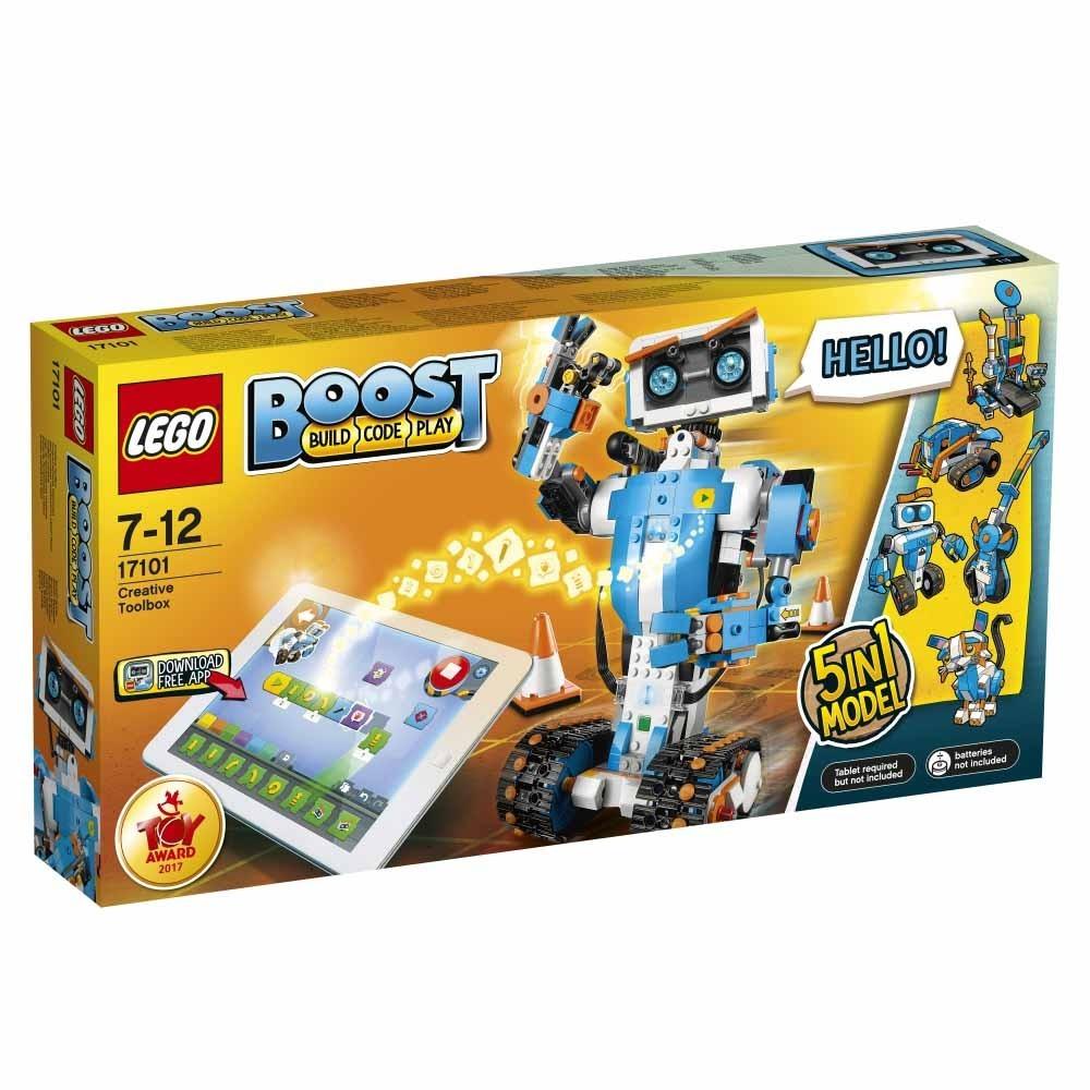 5つのモデルから選んで組立 LEGO レゴ ブースト レゴブースト クリエイティブ・ボックス 17101  7才~12才 レゴブロック 子供 おもちゃ ブロック