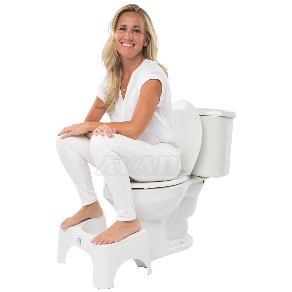 【楽天市場】スクワティポティー 洋式トイレ用 足置き台 Squattypotty トイレ 踏み台 ステップ スツール