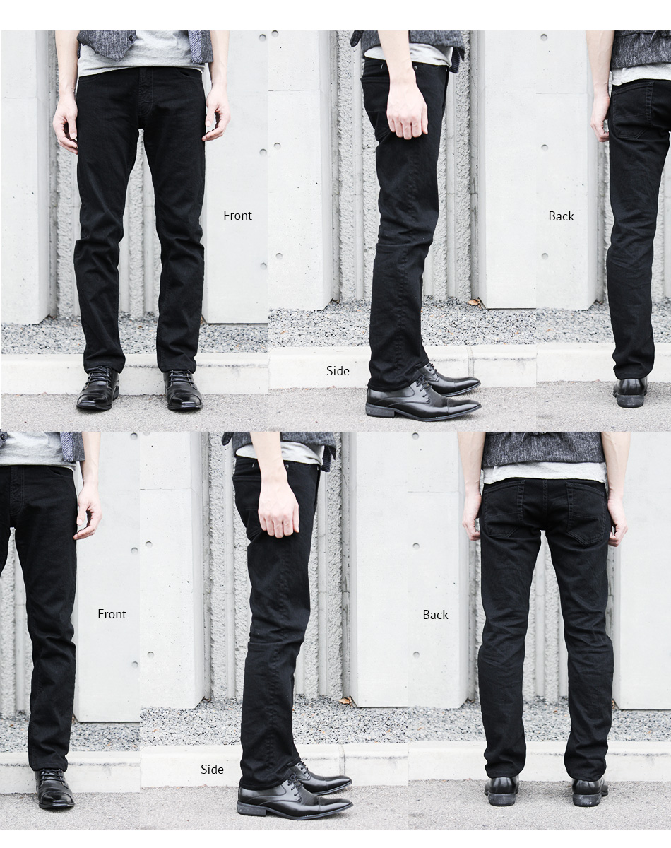 Finally it appeared black KAKEYA JEANS-made in japan 2nd model so thin black jeans ( ループレングス )