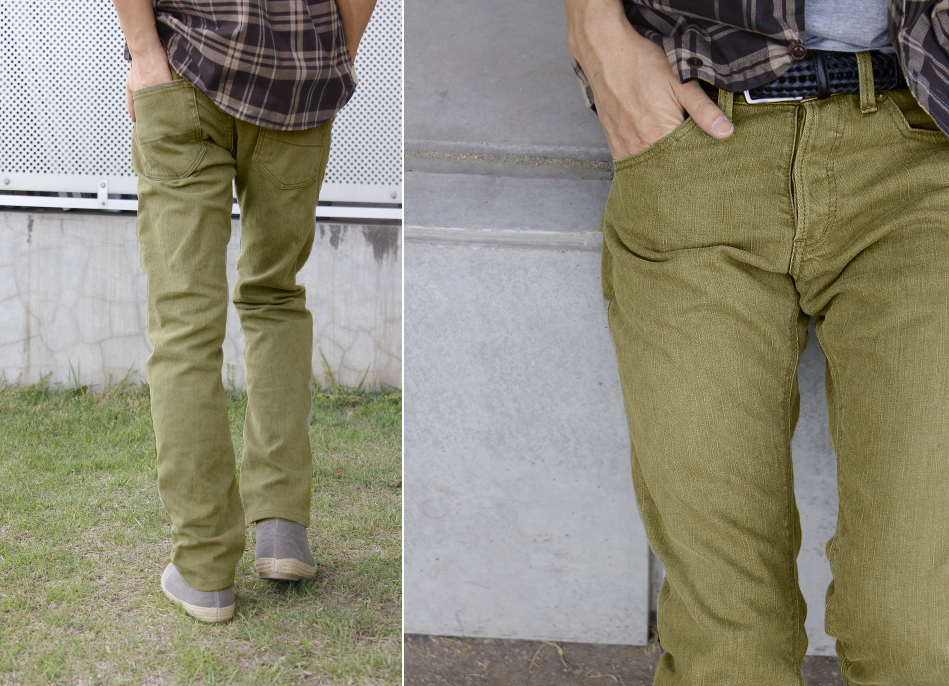 color stretch jeans工房直送価格!送料無料【工房直送(岡山) 職人仕上げ】KAKEYA JEANS-made in japan 細みのカラージーンズ(ループレングス) [ ストレッチデニム ]【国産 ジーンズ】【MNFA_DL】
