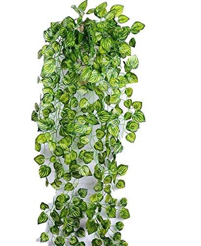 SCGEHA フェイクグリーン インテリア 買取 イミテーション 人工 観葉植物 1本 Bタイプ 癒し 緑 3種類 壁掛け 売買