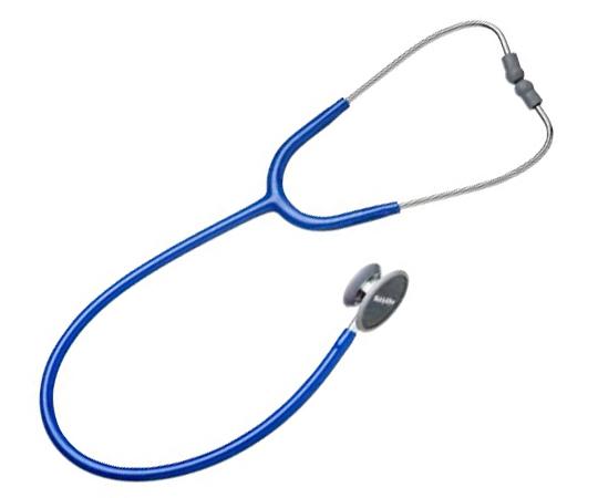 【ナビス】プロフェショナル聴診器成人用 ブルー