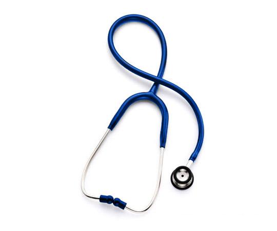 【ナビス】プロフェショナル聴診器小児用 ブルー 【fsp2124-6m】【02P06Aug16】