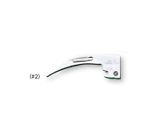 【無料健康相談 対象製品】【ナビス】喉頭鏡マッキントッシュ型#2 69062