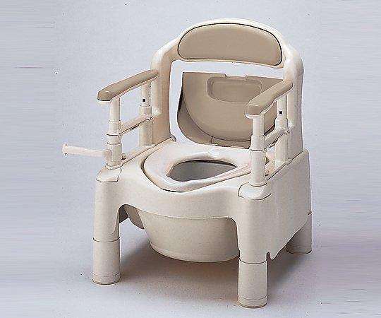 【専門家による1年間の無料介護相談付】【ナビス】ポータブルトイレ FX-CPS ベージュ 【fsp2124-6m】【02P06Aug16】