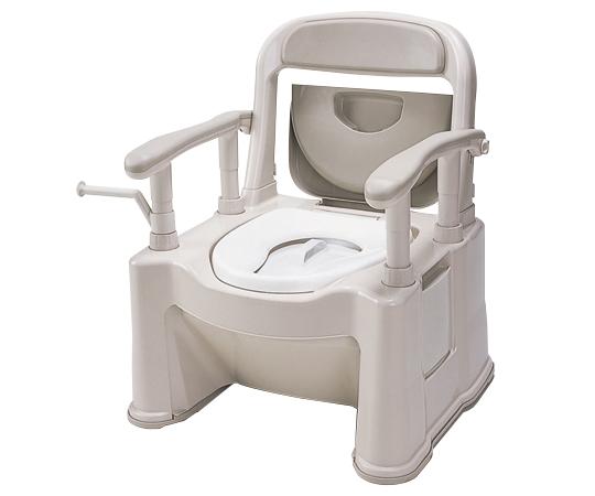 【専門家による1年間の無料介護相談付】【ナビス】ポータブルトイレ SPTSPMB