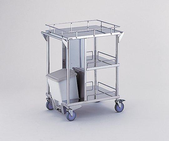 【無料健康相談 対象製品】【ナビス】足踏式ポリペール付処置車 KSC-PS