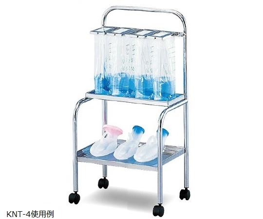 【送料無料】【ナビス】 貯尿架台 尿器用棚付 KNT-4 【大型品】