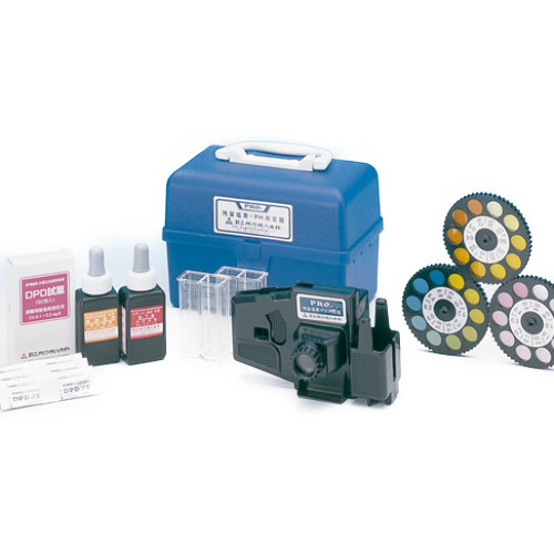 【無料健康相談 対象製品】【ナビス】水質検査器 DPD + pH