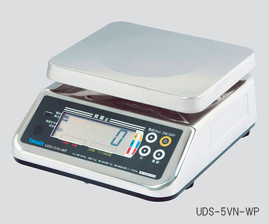 【アズワン】デジタル上皿はかりUDS-5V-WP-3