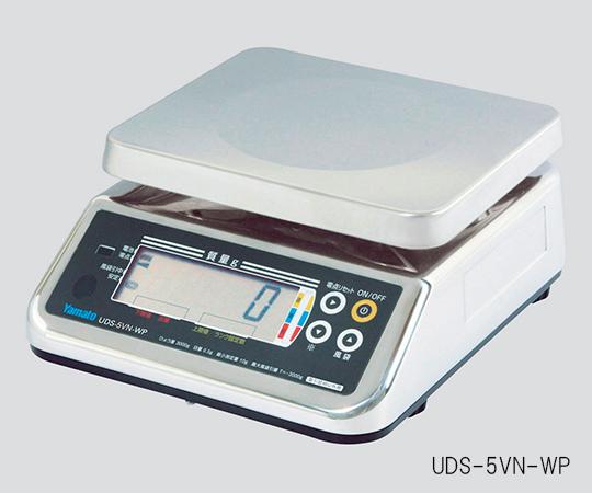 【アズワン】デジタル上皿はかりUDS-5V-WP15