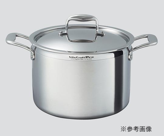 【アズワン】半寸胴鍋11.0L