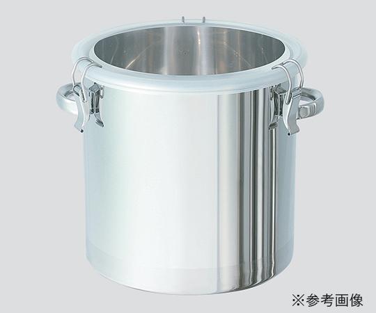 【アズワン】透明蓋付ステンレス密閉容器CTH30AF