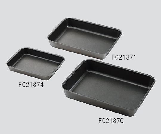 【アズワン】フッ素コーティング角バットF021368