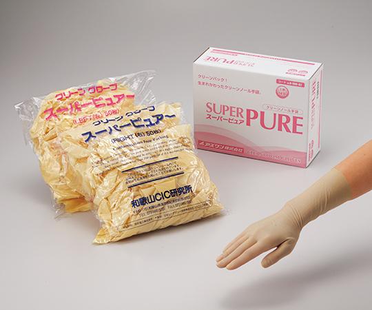 滅菌済スーパーピュア手袋ST L 【アズワン】【02P06Aug16】