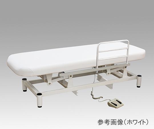 ローポジション電動診察台(サイドレール付き) ホワイト