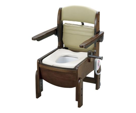 木製トイレ(きらく・コンパクトシリーズ) 暖房便座