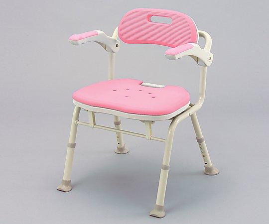 【無料健康相談 対象製品】【ナビス】折りたたみシャワーベンチ IS ピンク 【fsp2124-6m】【02P06Aug16】